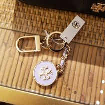 2020 NEW♪ Tory Burch ◆ MERCER INLAY KEY FOB