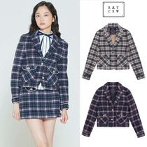 ROMANTIC CROWN★BTS愛用★WOMANS CHECK JACKET