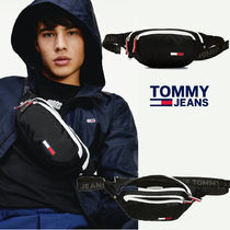 TOMMY JEANSトミージーンズMETRO CROSSOVER ショルダーバッグ 黒