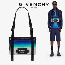 【GIVENCHY】Downtown フェイデッド ナイロンクロスボディバッグ