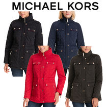 《Michael Kors》Hooded Quilted Coat キルティングコート