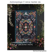 ANTHROPOLOGIExRifle Paper Co. Luxembourg rug 68.5cm x 114cm