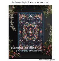ANTHROPOLOGIExRifle Paper Co. Luxembourg rug 152cm x 228 cm