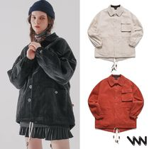 WV PROJECT★Cookiedough Corduroy Fishtail Jacket CJOT7424