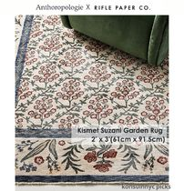 ANTHROPOLOGIE*Rifle Paper Co.Kismet Suzani Garden Rug 2'x3'