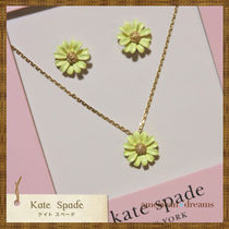 SALE 即発送 Kate Spade お花モチーフ ピアス&ネックレスセット