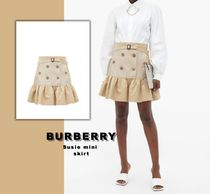送料関税無料 [BURBERRY] Susie mini skirt