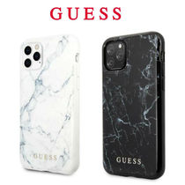 Guess (ゲス) iPhone 11 Pro 11 Pro Max ケース 大理石デザイン