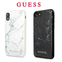 Guess (ゲス) iPhone X XS ケース 大理石デザイン