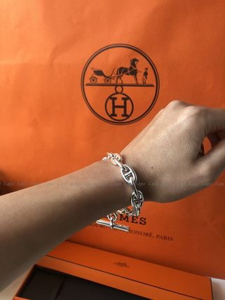 HERMES♪ブレスレットChaine D'ancre MM♪