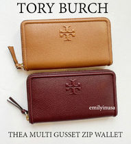 半額セール TORY BURCH★THEA MULTI GUSSET ZIP WALLET