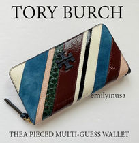 半額セール TORY BURCH★THEA PIECED MULTI-GUESS WALLET
