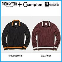 20AW新作!! ☆Todd Snyder + Champion☆ TIPPED QUARTER ZIP