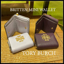 半額セール TORY BURCH★BRITTEN MINI WALLET 折り財布