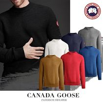 CANADA GOOSE▼【正規品】PATERSON SWEATER メンズ セーター