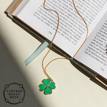 VINTAGE HOLLYWOOD★I'm Lucky Clover Necklace★韓国大人気