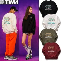 TWN★OVER FIT★TERRI SWEATSHIRT - JEMT3297