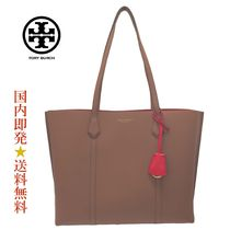 TORYBURCH53245-905PERRY TRIPLECOMPARTMENT TOTE L.UMBER(新品)