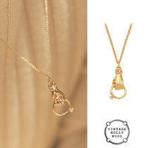 VINTAGE HOLLYWOOD★Hold the Ring Chain Necklace★韓国大人気