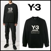 ★Y-3★STACKED LOGO CREW SWEATER★韓国の人気★