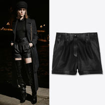 WSL1805 LOOK8 LAMB LEATHER SHORTS