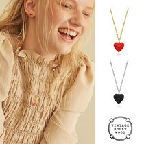 VINTAGE HOLLYWOOD★Alice Heart Necklace★韓国大人気