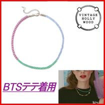 ◆VINTAGE HOLLYWOOD◆BTSテテ着用 color necklace ◆正規品◆
