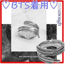 BTS 着用★ONE ENOUGH★Feather of Angel Ring-Silve.r★リング