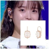 [J.Estina] 20F/W アイユ着用 SERENA square earrings