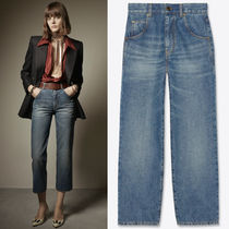 WSL1808 LOOK34 CROPPED HIGH-RISE '70S JEANS