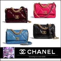 2020AW 新作 CHANEL 19 フラップ バッグ カーフスキン 4色展開