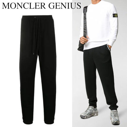 MONCLER パンツ MONCLER GENIUS FRAGMENT COTTON JOGGING PANTS