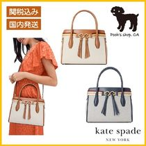 【Kate Spade】toujours canvas medium satchel◆国内発送◆