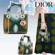 20AW【Dior】LADY DIOR ミニバッグ Tie & Dior カーフスキン