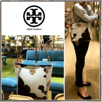 Tory Burch☆MCGRAW CALF HAIR HOBO☆ショルダーバッグ☆送料込