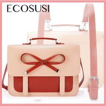 ☆新作!送料関税込☆ECOSUSI Begonia Bow Briefcase Backpack