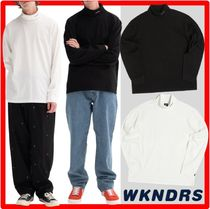 ★★韓国の人気★WKNDRS★★LONG SLEEVE TURTLE NEC.K★2色★★