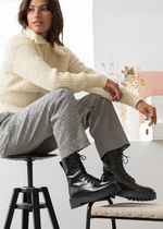 ☆& Other Stories☆Chunky Platform Leather Boots