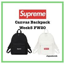 Supreme Canvas Backpack Week5 FW20