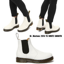 Dr Martens★2976 YS WHITE SMOOTH★サイドゴア