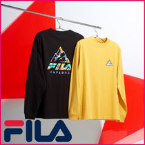 【FILA】EXPLORE Long Sleeve Round Tシャツ★安全配送★