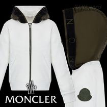 MONCLER(モンクレール) キッズ用トップス 大人OK★Moncler 20AW★ロゴ入フードスウェットパーカー★12/14A