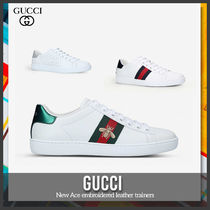 [Gucci] New Ace embroidered leather trainers 送料関税込