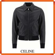 CELINE AVIATOR JACKET IN SOFT LAMBSKIN