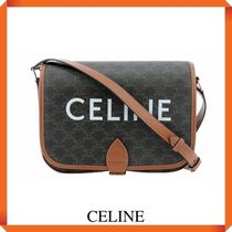 CELINE MESSENGER FOLCO BAG IN TRIOMPHE CANVAS
