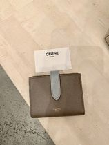送料込【CELINE】新サイズ♪SMALL STRAP WALLET IN BICOLOUR