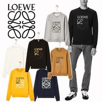 【LOEWE】2020AW Anagram Embroidered Sweatshirt in Cotton
