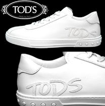 TOD'S(トッズ) スニーカー TOD'S トッズ LOGO PATCH CAS.GOMMA XY ロゴレザースニーカー