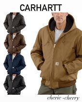 【CARHARTT】Duck Quilted Flannel Linedアクティブ ジャケット