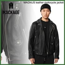 20AW◆Mackage◆MAGNUS leather motocycle jacket